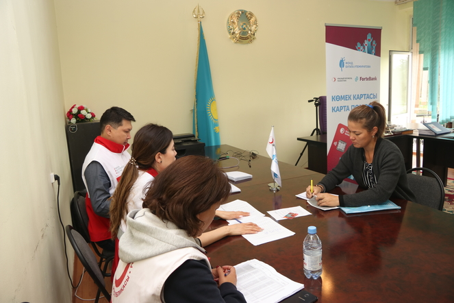 The Bulat Utemuratov's Foundation and the Red Crescent rendered assistance to the victims of the mudflow in Almaty region