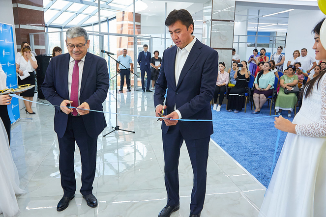The Bulat Utemuratov's Foundation opened its seventh Asyl Miras Autism Center in Shymkent city.