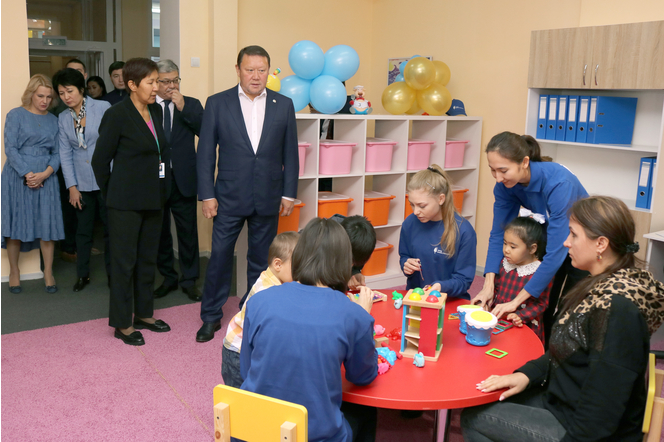 ASYL MIRAS AUTISM CENTER OPENED IN PETROPAVLOVSK