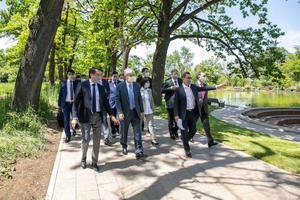 President of Kazakhstan Kassym-Zhomart Tokayev got acquainted with Reconstruction of the Botanic Garden of Almaty