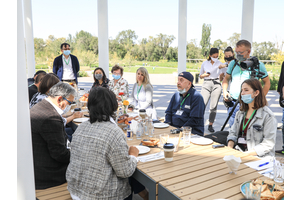 The Bulat Utemuratov's Foundation summarized the results of the Almaty Botanic Garden Reconstruction Project