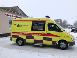 Bulat Utemuratov's Foundation Transferred Medical Equipment to Rural Hospital in Agadyr Settlement